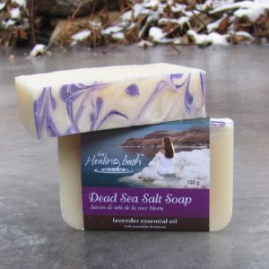 Dead Sea Salt Soap -- Lavender
