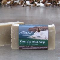 Dead Sea Mud Soap -- Eucalyptus, Tea Tree & Peppermint