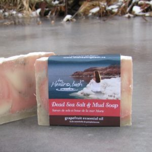 Dead Sea Salt & Mud Soap -- Grapefruit