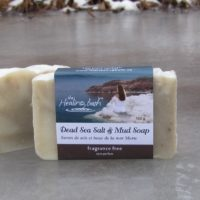 Dead Sea Salt & Mud Soap -- Fragrance Free